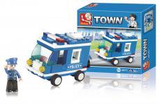 polis-van serie town byggeklodser