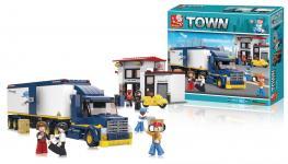 lastbil serie town byggeklodser