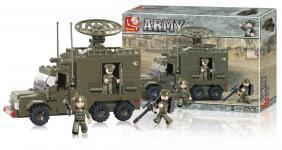 Byggeklodser Army Serie Radarlastbil
