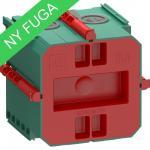 grøn modul 1 indmuringsdåse air fuga lk