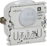 afdækning uden 90 230v 10a sensor pir fuga lk