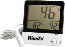 sensor kabel med hygrotermometer woods