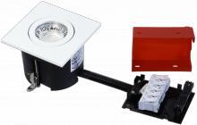 udendørs lyskilde ex hvid mat gu10 230v 87x87mm 2-change easy daxtor