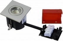 udendørs lyskilde ex stål børstet gu10 230v 87x87mm 2-change easy daxtor