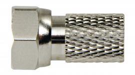 F-Stik 2.5 mm Han Metal Sølv/Sølv