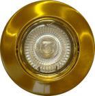 Daxtor Downlight ø84mm 12v 35w messing f/Easy 2-Light MR16 12v bagdåse