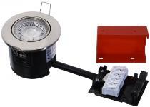 25w børstet dæmpbar lyskilde led 827 1w 3 osram med gu10 230v ø87mm 2-setup easy daxtor