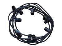 særskilt bestilles tilslutningskabel sammenbygges kan fatninger e27 stk 10 med mtr 5 7 lyskæde udendørs