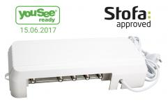 approved stofa ready yousee udgange 8 388 ifa forstærker triax