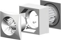 ventilatorer decor og 100 silent t rudesæt vindueskit