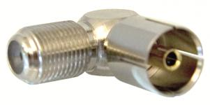 adapter f-connector - hun coax iec