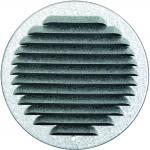 skruehuller og insektnet med aluzink mm ø150 murrist