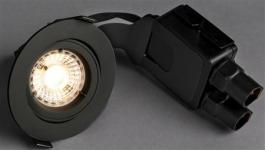 antracite - udendørs lumen 470 930 8w 5 led ø95mm outdoor quick comfort