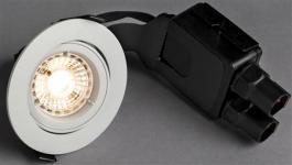 hvid - udendørs lumen 470 930 8w 5 led ø95mm outdoor quick comfort