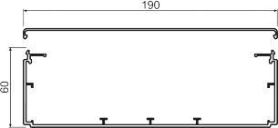 pg 60190 lf kompl kabelkanal