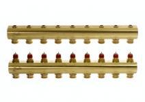 Danfoss gulvvarmemanifold 9+9 FHF-9