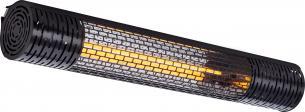 m2 16 til op dækker sort varmelampe pro carbon 2000 wishco