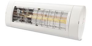 model 2019 forbedret ny hvid - lys uden helt varmelampen 18m2 til op - 2000 air solamagic