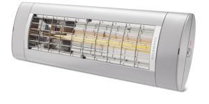 model 2019 forbedret ny titanium - lys uden helt varmelampen 18m2 til op - arc 2000 air solamagic