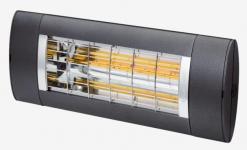 model 2019 forbedret ny antracite - 14m2 til op varmelampe 1400 premium solamagic