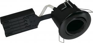 sort lyskilde ex ip44 230v gu10 ø87mm udendørs install uni - 1299 nordtronic