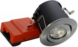 lyskilde ex alu børstet downlight ø88mm 230v gu10 66 exo daxtor