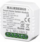 46x46x18mm smartphone via sluk tænd modul smart wi-fi malmbergs