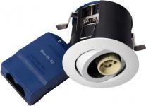 hvid mat lyskilde ex 230v gu10 ø87mm downlight g2 66 blue-dl