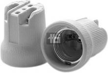 5mm 43x46 bund i huller skrue med sokkel e27 porcelæn fatning