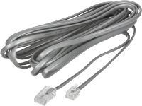 sølv mtr 5 tilslutningskabel telefon basic net ihc