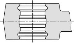 ø16mm g mini-prestang rems
