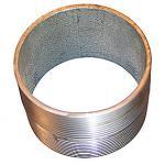 Image of   Nippelrør sammenskåret galvaniseret 1/2 30 mm