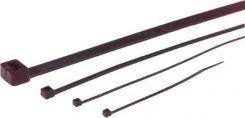 100 5x144mm 2 sort kabelbinder
