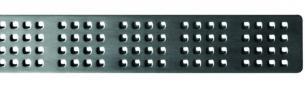 Unidrain rist L1000mm Square design. Unidrain 1604