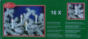 udendørs - lysene mellem 50cm - lys 16 med julelyskæde