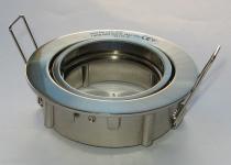 kip m rund stål b beslag til holder m front gu10
