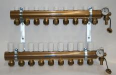 Pettinaroli Alpha fordelerrørsæt til 9 kredse