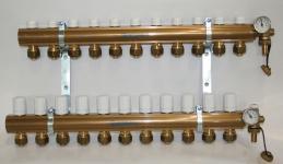 Pettinaroli Alpha fordelerrørsæt til 11 kredse