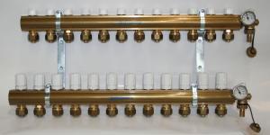 Pettinaroli Alpha fordelerrørsæt til 12 kredse
