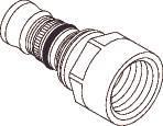 Image of   Mepla adapter 20-1/2 indvendigt rørgevind602.555.00.1