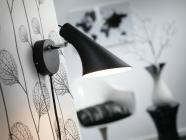 Nordlux Vanila Væglampe E14 Sort