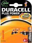 pak stk 8 batteri lr3 aaa alkaline power plus duracell