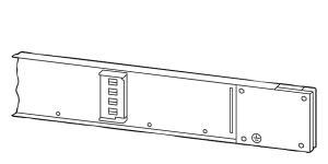 Image of   Skinne 2m 125a/1,0m