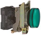 24vacdc led grøn signallampe