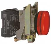 120vac led rød signallampe