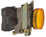 230vac led gul signallampe