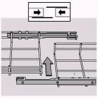 Samlelaske Autoclic-RS rustfri f/gitterbakke