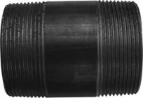 Image of   nippelrør sorte 1.1/4, pose à 10 stk. blandede
