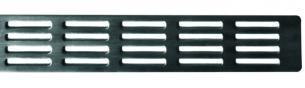 Unidrain rist L700mm Stripe design. Unidrain 1605
