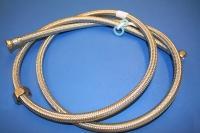 Neoperl Tilsl.Slange 1250 mm t.vv.Stålomflet. 1/2x3/4